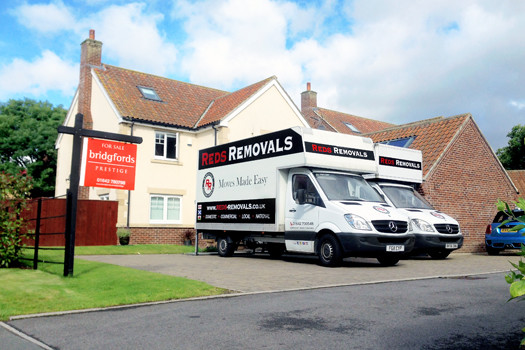 Moving house in Darlington | Home removals by Reds Removals in Darlington.