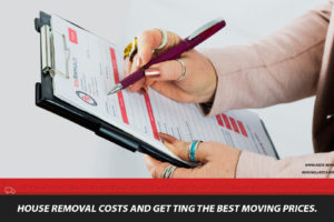 How much do house removals cost in the UK, North East by a removal company