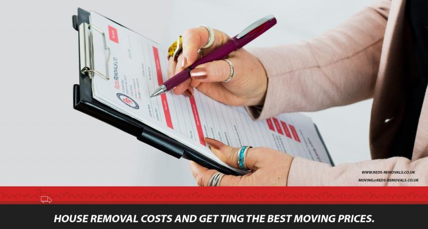 House Removal Costs | Get the best moving prices.