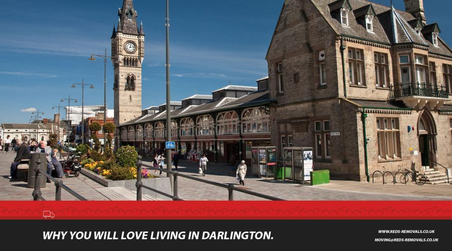 Moving to Darlington and why Darlington is a good place to live.