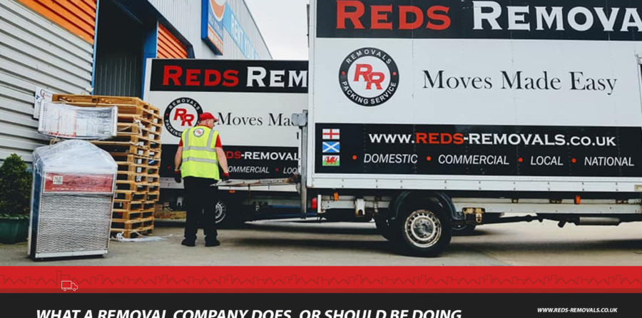Choosing the best removal company in your area.