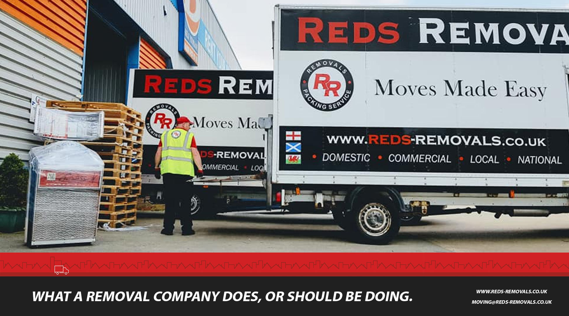 Choosing your removal company and what your removal company does to make your house move easy.