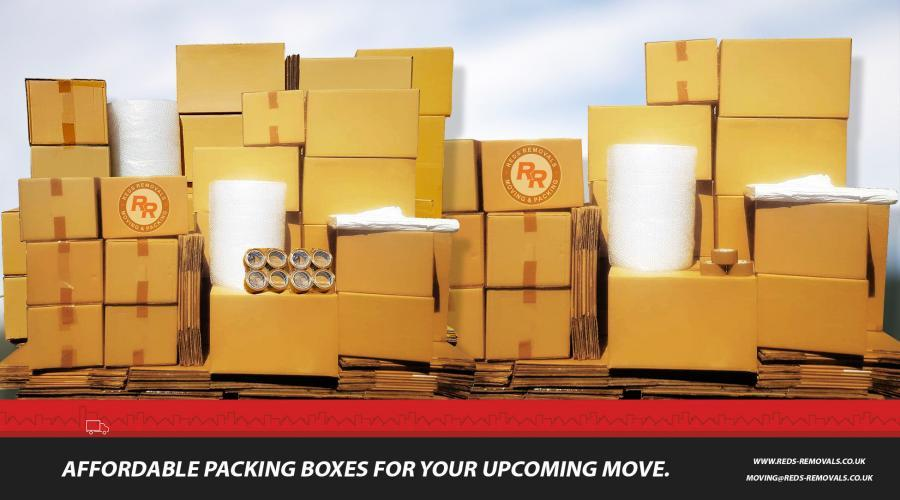 Packing Boxes | Packaging for your house move.