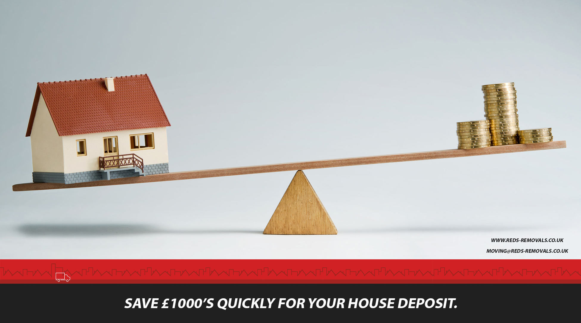 Learn how to save a house deposit quickly, Save money for your house.